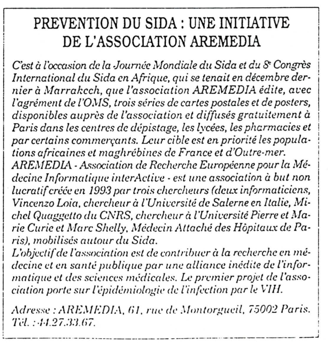 8ème Congrès International du Sida en Afrique